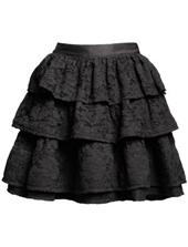 falda negra Lanvin H&M