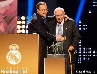 Alfredo Di Stéfano Premio Alma 2010 Trayectoria deportiva Fundación Real Madrid