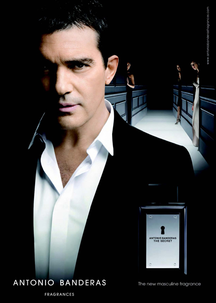 Antonio Banderas The Secret nueva fragancia