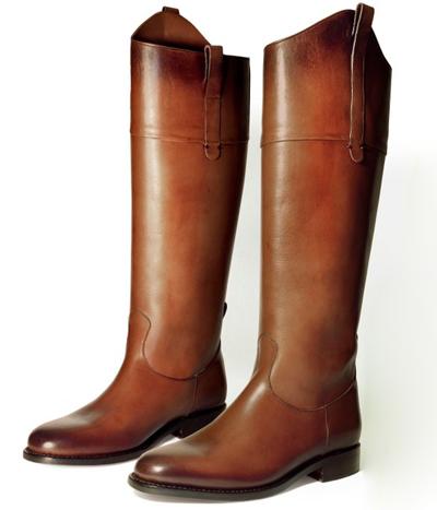 botas hípica mujer