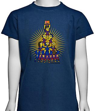 camiseta FC Barcelona Kukuxumusu
