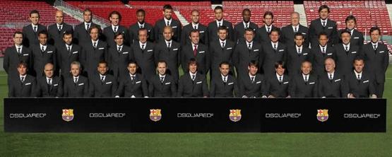 Dsquared2 viste de nuevo al Barça