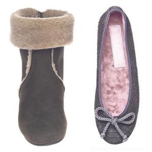 colección de bailarinas y botas para invierno de Pretty Ballerinas