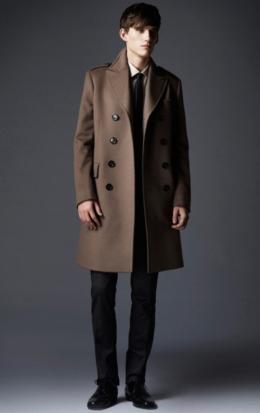 abrigo hombre Burberry