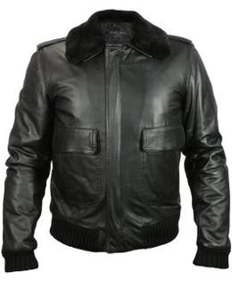 cazadoras y chaquetas de piel para hombre