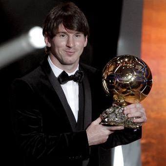 Messi FIFA Balón de Oro 2010