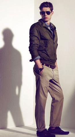 Massimo Dutti hombre primavera 2011 colección crucero