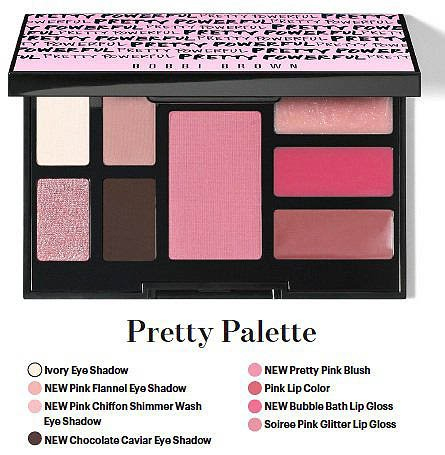 paleta de maquillaje de Bobbi Brown Pretty Powerful