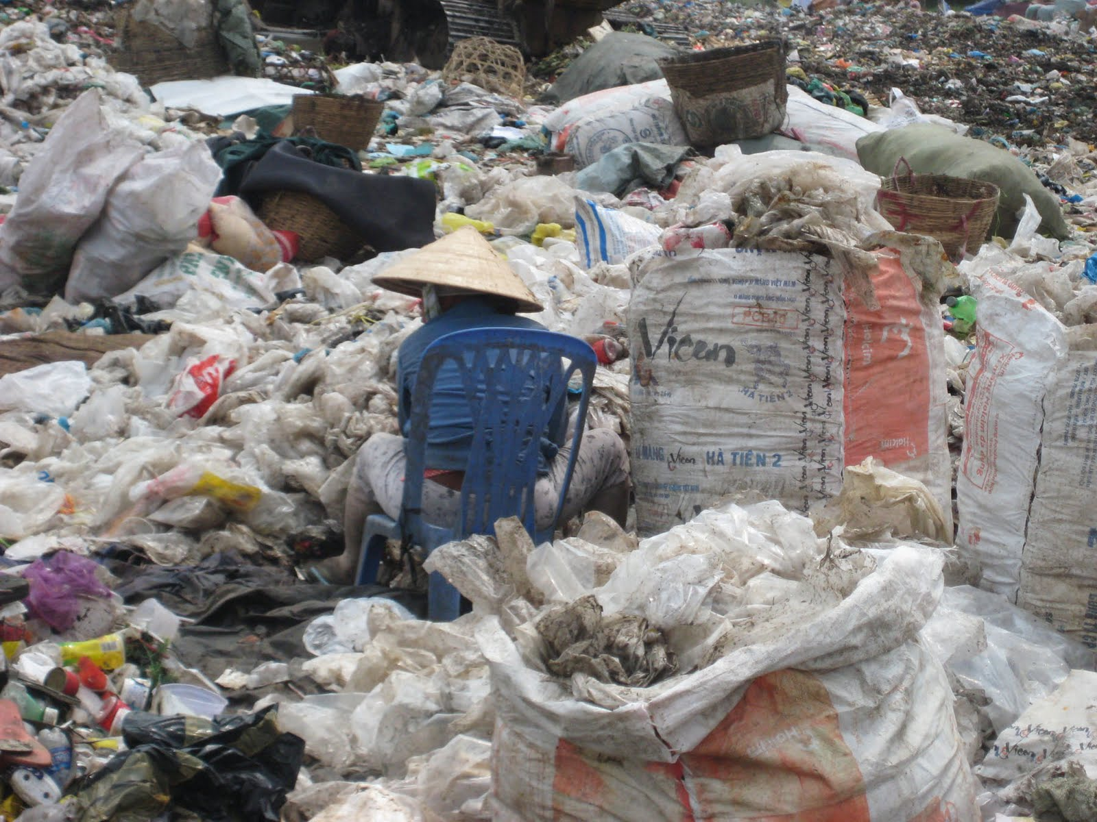 This image says it all for the people who live at the dump.