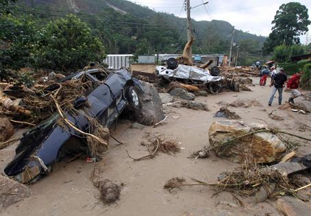 Mudslide In Brazil