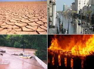 Environmental problem Global-warming-drought-flood-fire