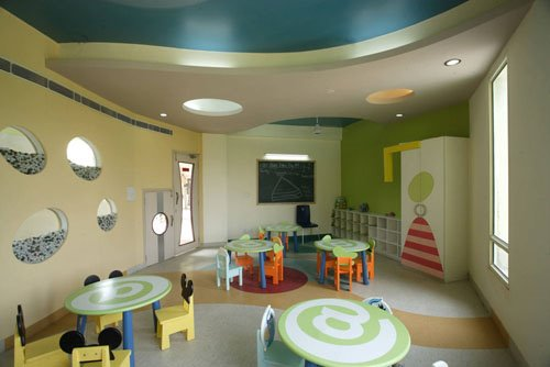 Adharshila Vatika Children Centre Inside Design in New Delhi, India