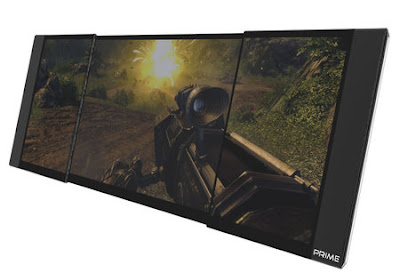 The Prime Gaming Laptop With Three-OLED-Screened and 26-inch Display