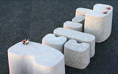 Recycled Egg Carton 'Tamago' Furniture by Merci Design
