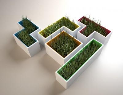Tetris Pots by Stéphanie Choplin