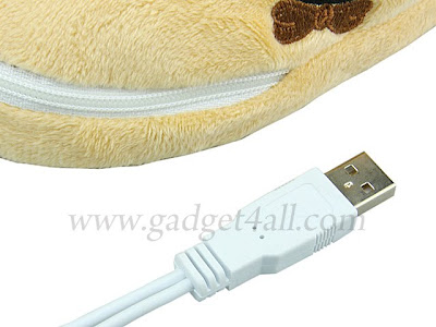 Bear USB Heating Slippers