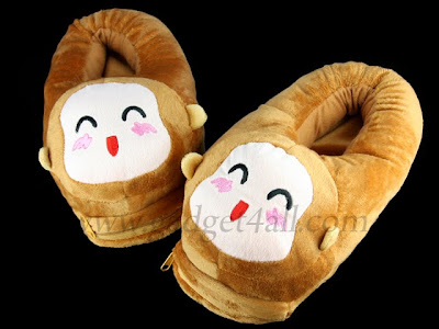 Five Lovely USB Heating Slippers
