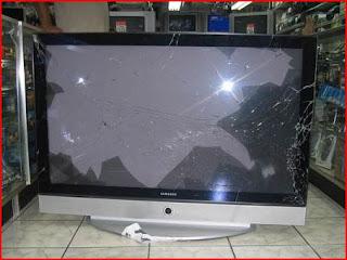 Broken LCD
