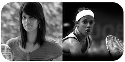 Joshna Chinappa and Nicol Ann David