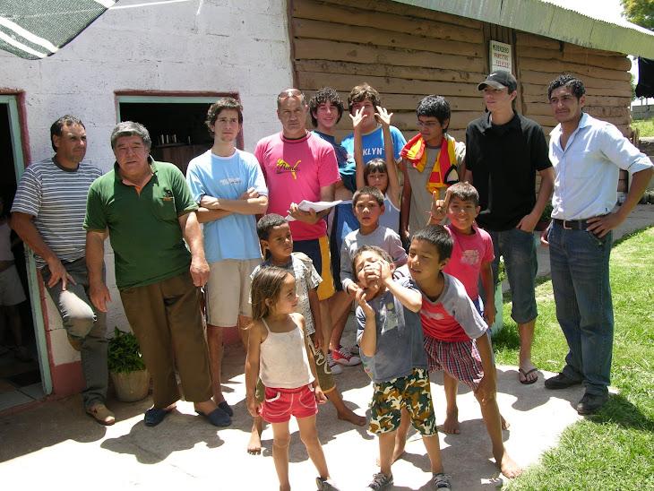 2006 colaborando con el merendero de lili