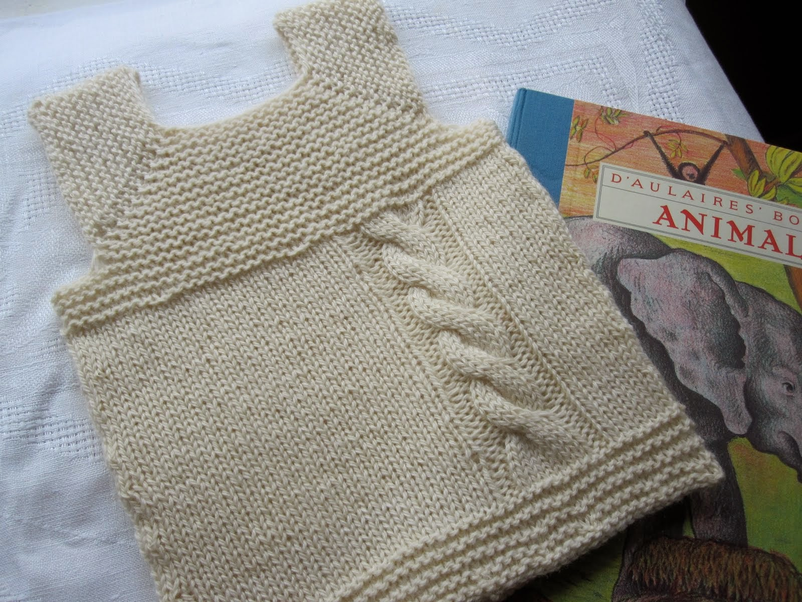 close knit: Perfect Summer Knit: Quick and Easy Baby Vest