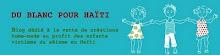 Du blanc pour Haïti
