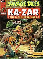 Savage Tales #6, Ka-Zar
