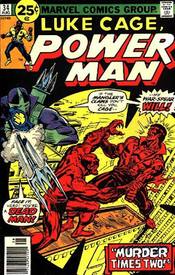 Luke Cage, Power Man #34, cover