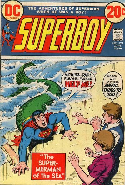Superboy #194, Super-MerBoy