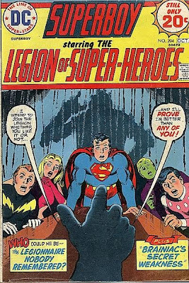 Superboy and the Legion of Super-Heroes #204, Mike Grell. Nick Cardy cover