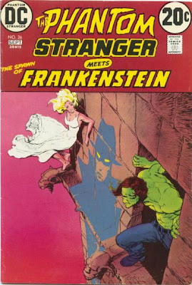 The Phantom Stranger meets the Spawn of Frankenstein, Mike Kaluta