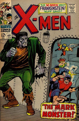 The X-Men meet the Frankenstein Monster