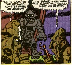 Journey into Mystery #83, Thor's first ever appearance, and origin, the Stone Men from Saturn and the Mechano Monster