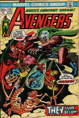 Avengers #115, the Avengers/Defenders War begins
