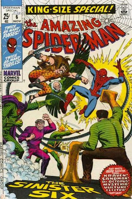 Amazing Spider-Man Annual #6, the Sinister Six, the first super-hero comic I ever read