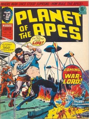 Marvel UK Planet of the Apes, Apeslayer/Killraven