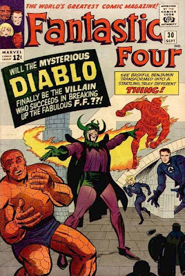 Fantastic Four #30, Diablo's first appearance and origin