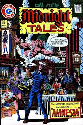 Charlton Comics Midnight Tales 8 Arachne and Professor Coffin