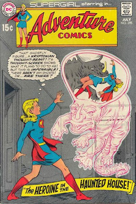 Adventure Comics #395, Supergirl and the haunted house