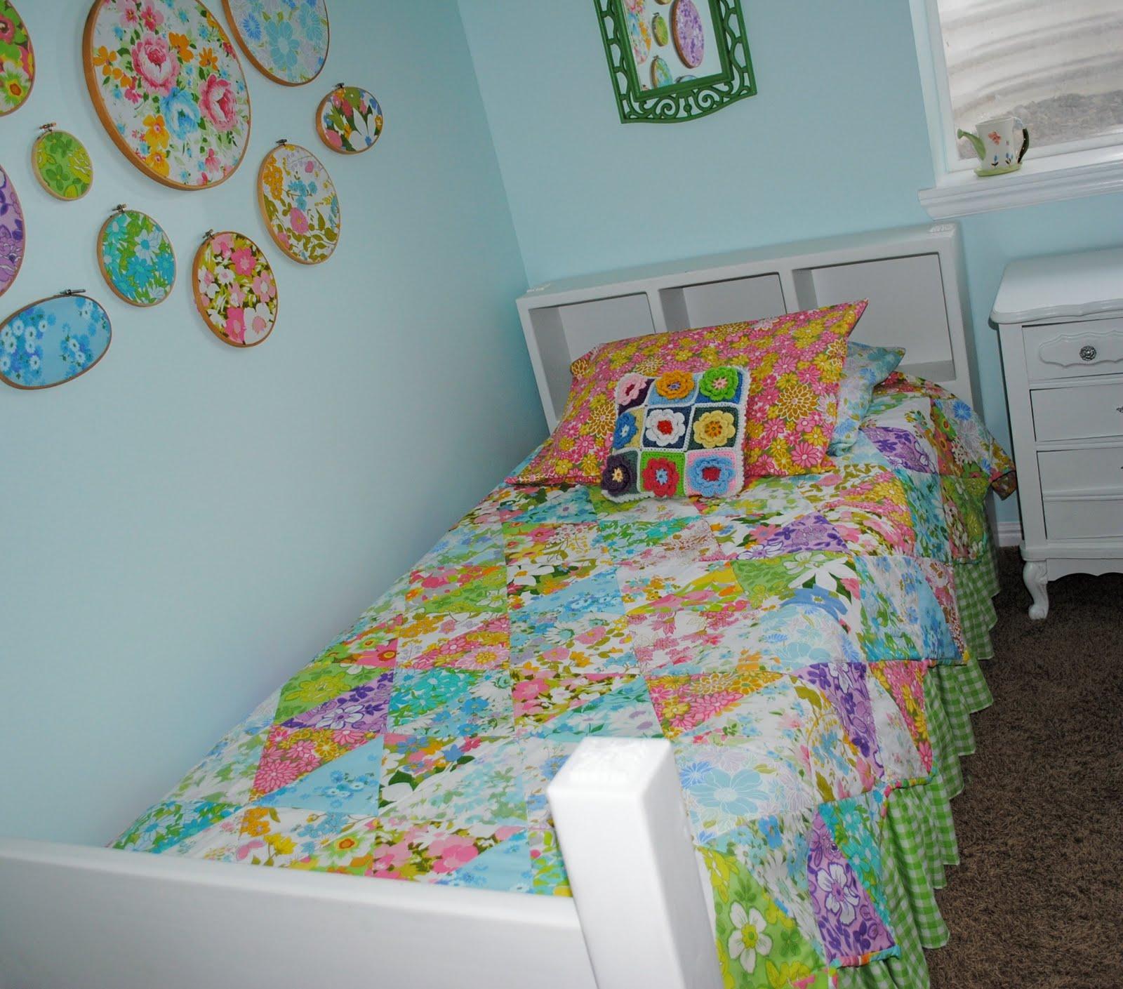 Hideaway Girl Vintage Inspired Bedroom Make Over