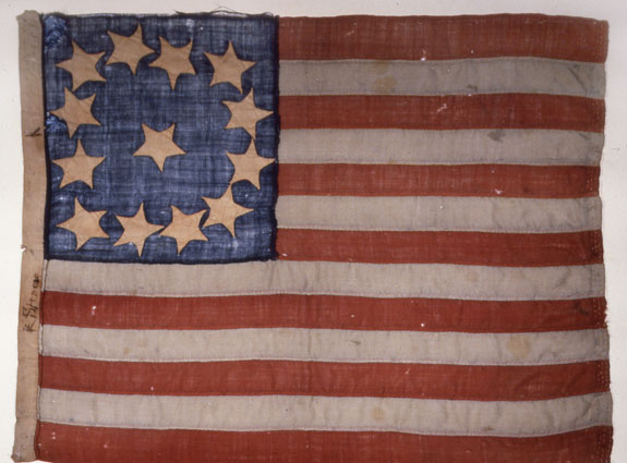 History of the us flag for The american flag history