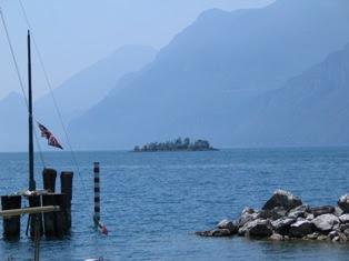 Zicht op het Gardameer vanuit Malcesine