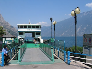 Veerboot in Limone