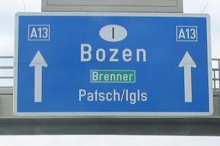 Wegwijer Brenner - Bozen