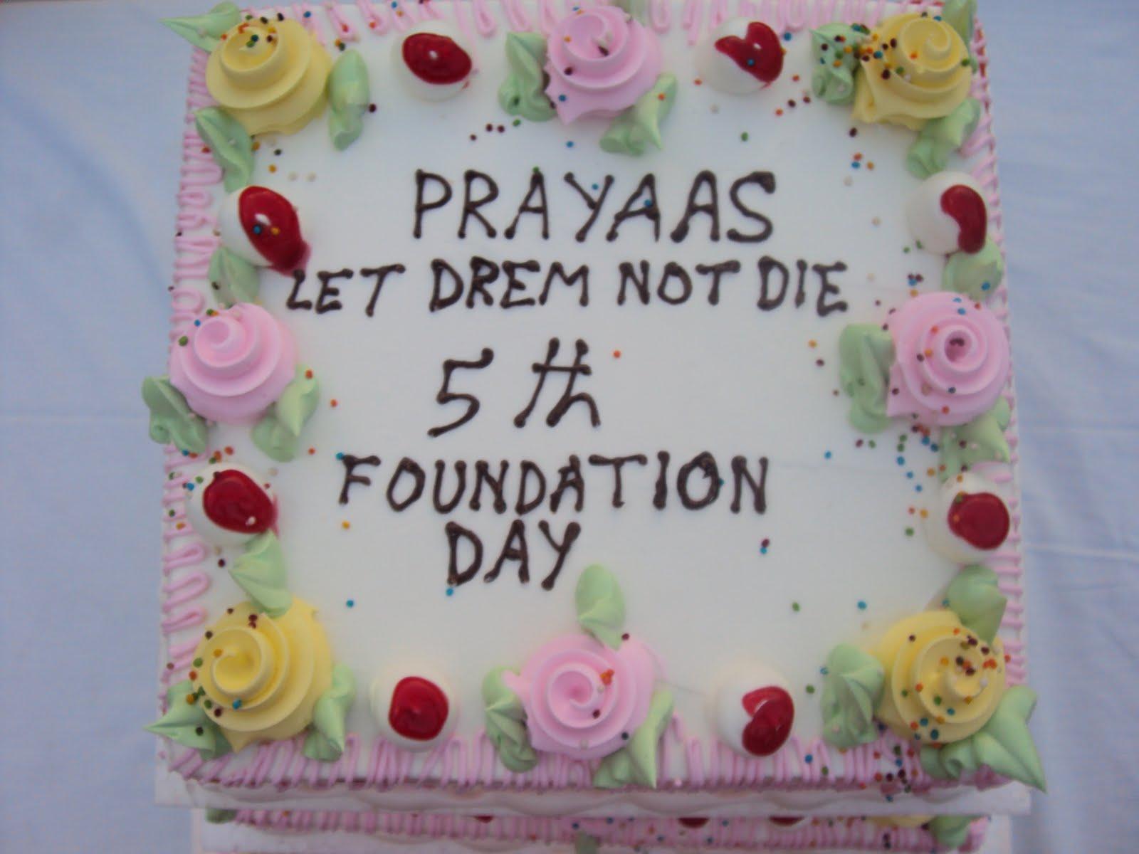 Prayaas Let Dreams Not Die Happy Birthday Prayaas