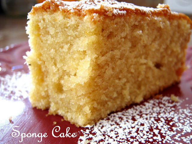 Sponge Cake Recipe Half The Eggs