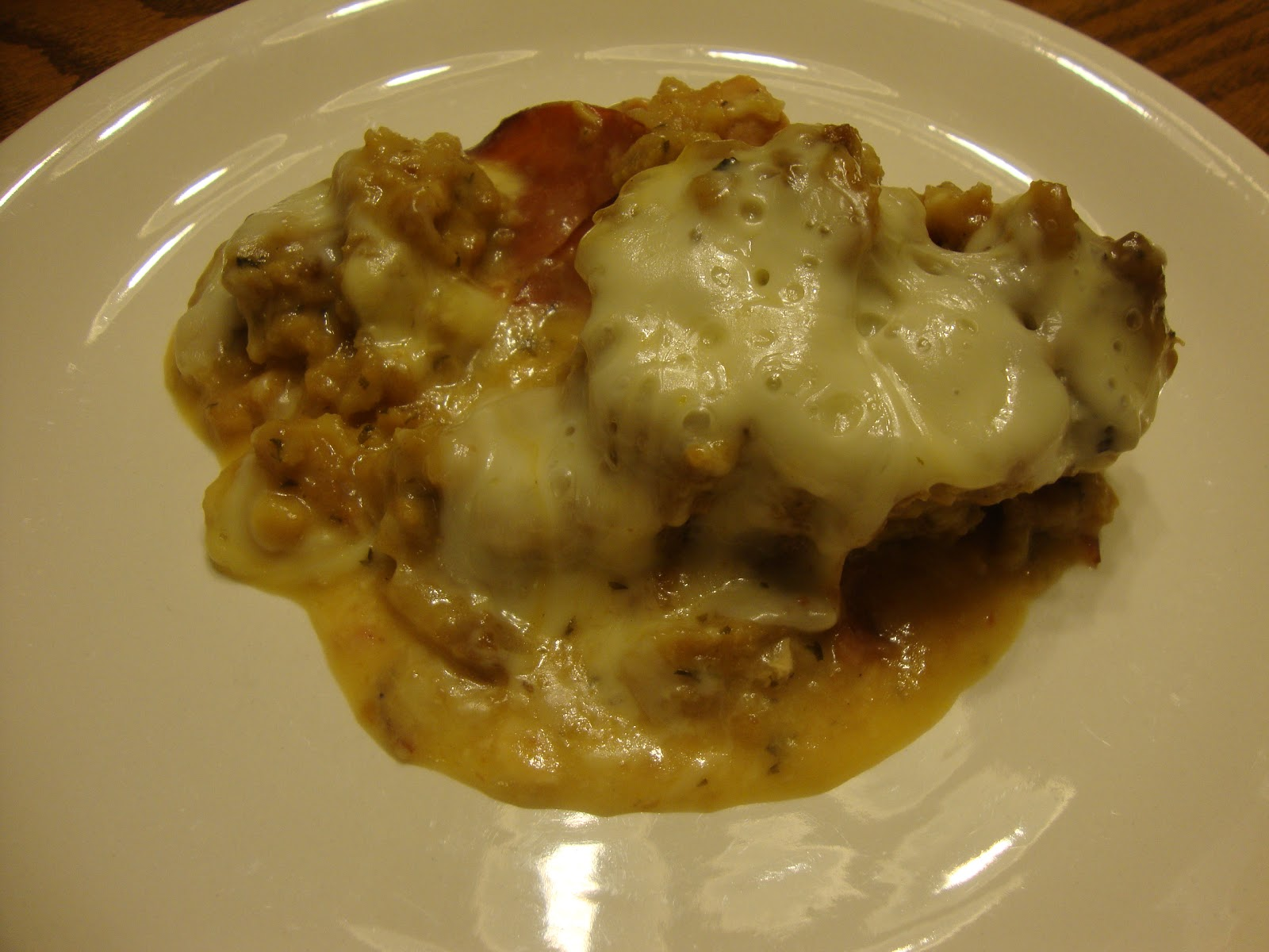 Busy Mom's Slow Cooker Adventures: Chicken Cordon Bleu Casserole