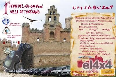 Concentracion de 4x4 en Turegano (Segovia) 4x4turegano