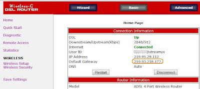 Router Status