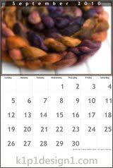Free Fiber Calendar